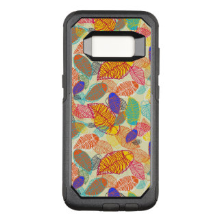 Background With Leaves 2 OtterBox Commuter Samsung Galaxy S8 Case
