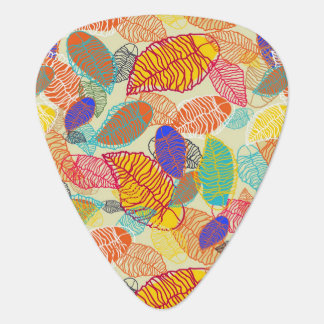 Background With Leaves 2 Plectrum