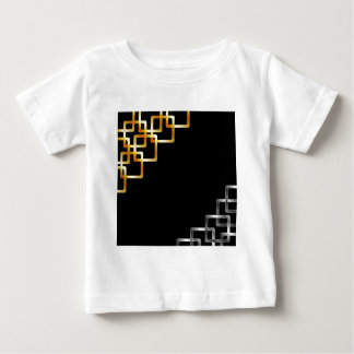 Background with metallic squares baby T-Shirt