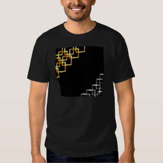 Background with metallic squares shirts