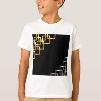 Background with metallic squares T-Shirt