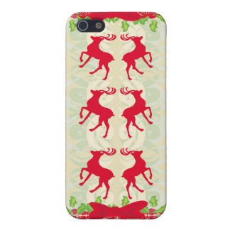 background with reindeers iPhone Case iPhone 5 Covers