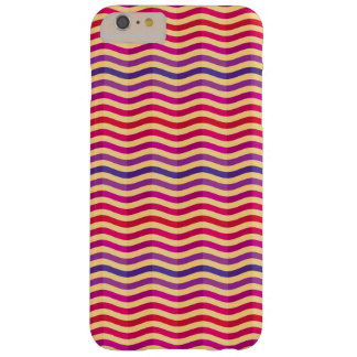 Background with stripes in retro 3 barely there iPhone 6 plus case
