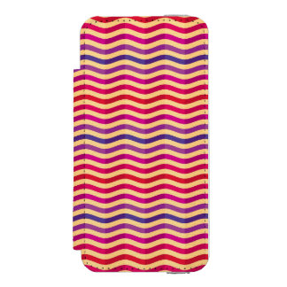 Background with stripes in retro 3 incipio watson™ iPhone 5 wallet case
