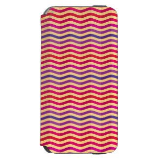Background with stripes in retro 3 incipio watson™ iPhone 6 wallet case
