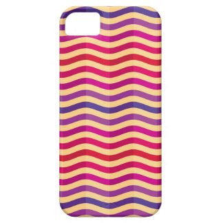 Background with stripes in retro 3 iPhone 5 case