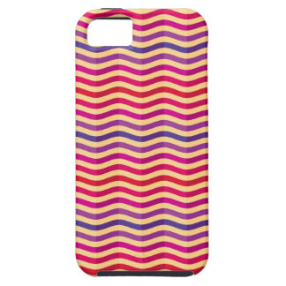 Background with stripes in retro 3 iPhone 5 cover