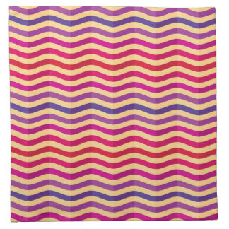 Background with stripes in retro 3 napkin