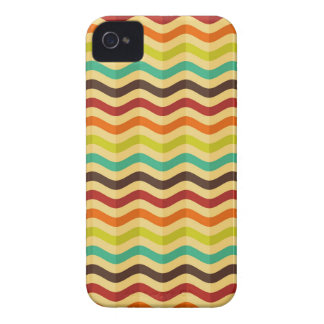 Background with stripes in retro 4 Case-Mate iPhone 4 cases
