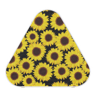 Background with sunflowers