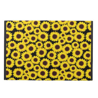 Background with sunflowers case for iPad air