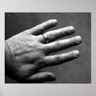 Backhand #1 poster