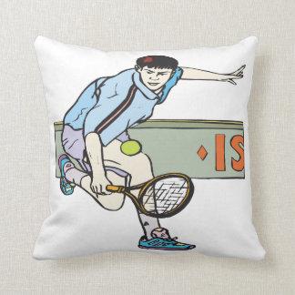 Backhanding Throw Pillows
