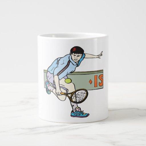 Backhanding Jumbo Mug