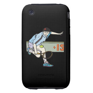 Backhanding Tough iPhone 3 Covers