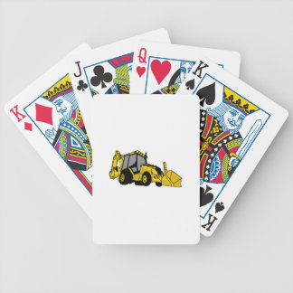 Backhoe Bicycle Playing Cards