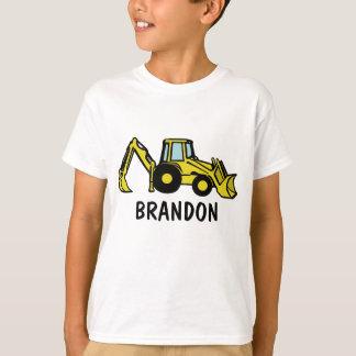 Backhoe/BRANDON T-Shirt
