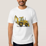 Backhoe Digger Loader Construction Apparel Tee Shirt