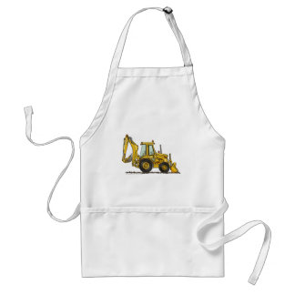 Backhoe Digger Loader Construction Aprons