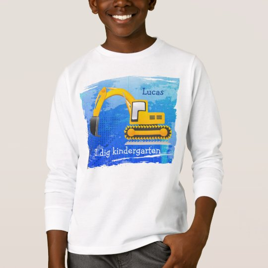 Backhoe Kid's T-Shirt