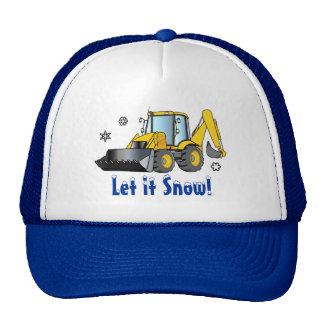 Backhoe: Let it Snow! Cap