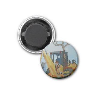 Backhoe Magnet