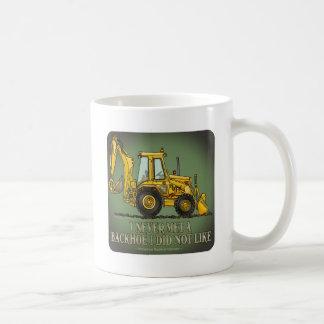 Backhoe Operator Quote Coffee Mug