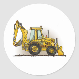 Backhoe Sticker