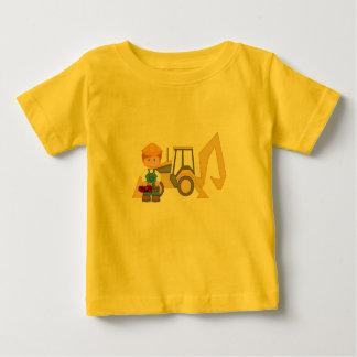 Backhoe Tractor Baby T-Shirt