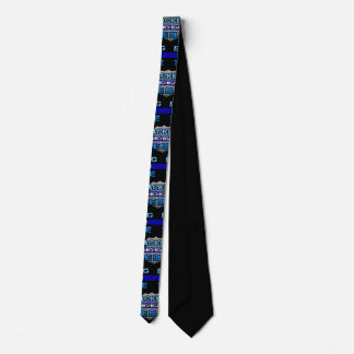 Backing the Blue Michigan Tie