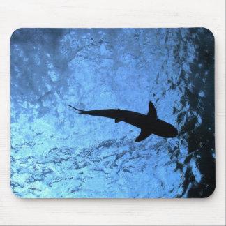 Backlit Shark Mouse Pad