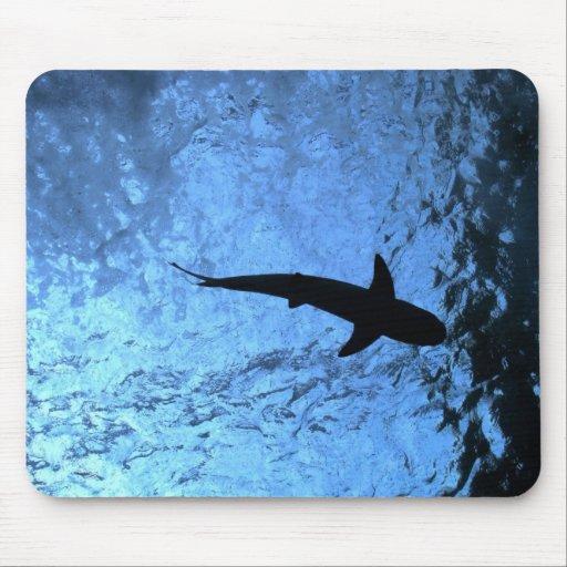 Backlit Shark Mousepads