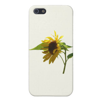 Backlit Sunflower Covers For iPhone 5