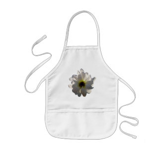 Backlit White Daisy Kids Apron
