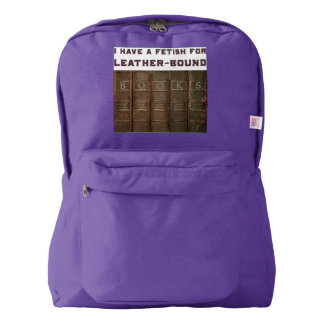 Backpack Leather-Bound Books | Heartblaze