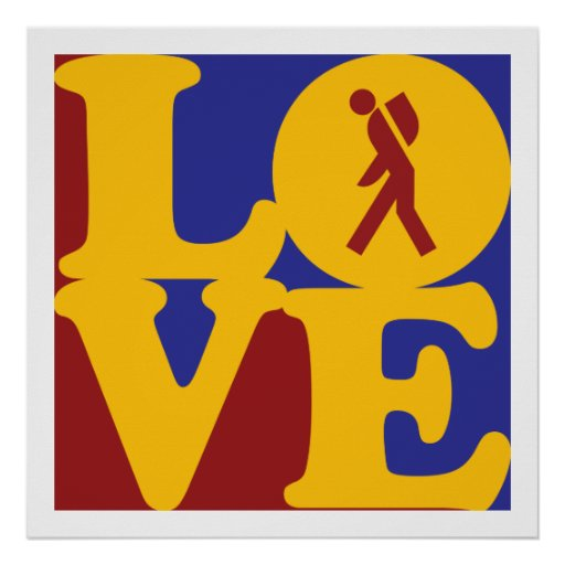 Backpack Love Poster