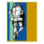 Backpacker (guy)-BlueGreen Post Card