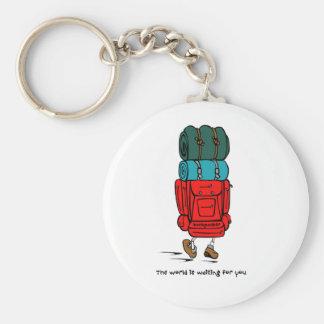 Backpacker Key Ring