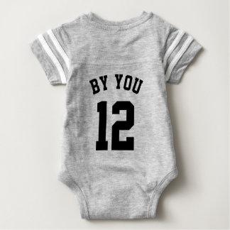 Backside Gray & Black Baby | Sports Jersey Design Tshirts