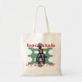 Backstab Budget Tote Bag