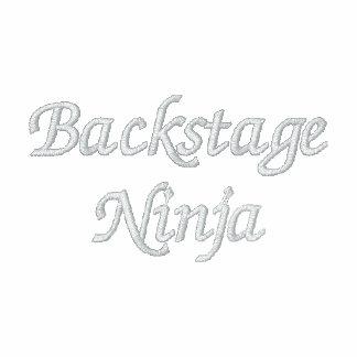 Backstage Ninja Embroidered Polo