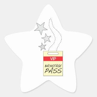 Backstage Pass Sticker