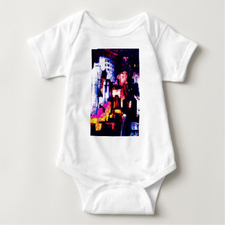 backstreets of the New York landscape Baby Bodysuit