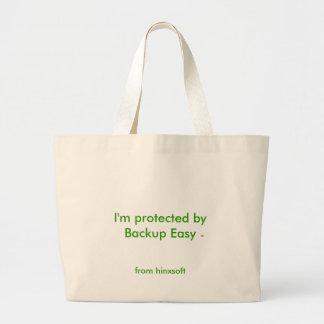 Backup Easy Jumbo Tote Bag