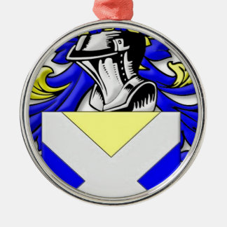 Backus Coat of Arms Ornaments