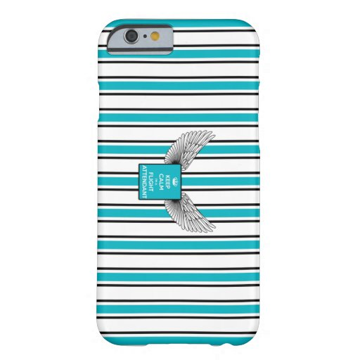 Backward soon Kciafa and stripes Barely There iPhone 6 Case
