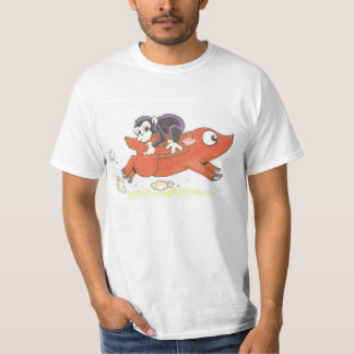 Backwards On A Pig T-Shirt