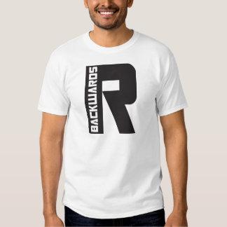 Backwards R T-shirt