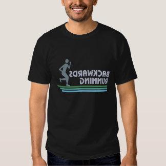 Backwards Running 4 T-shirt