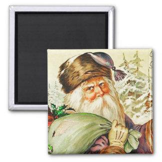 Backwoods Santa Vintage Magnet